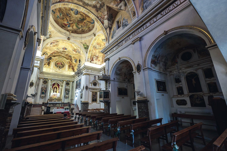 Interior de Iglesia. Pina. Mallorca